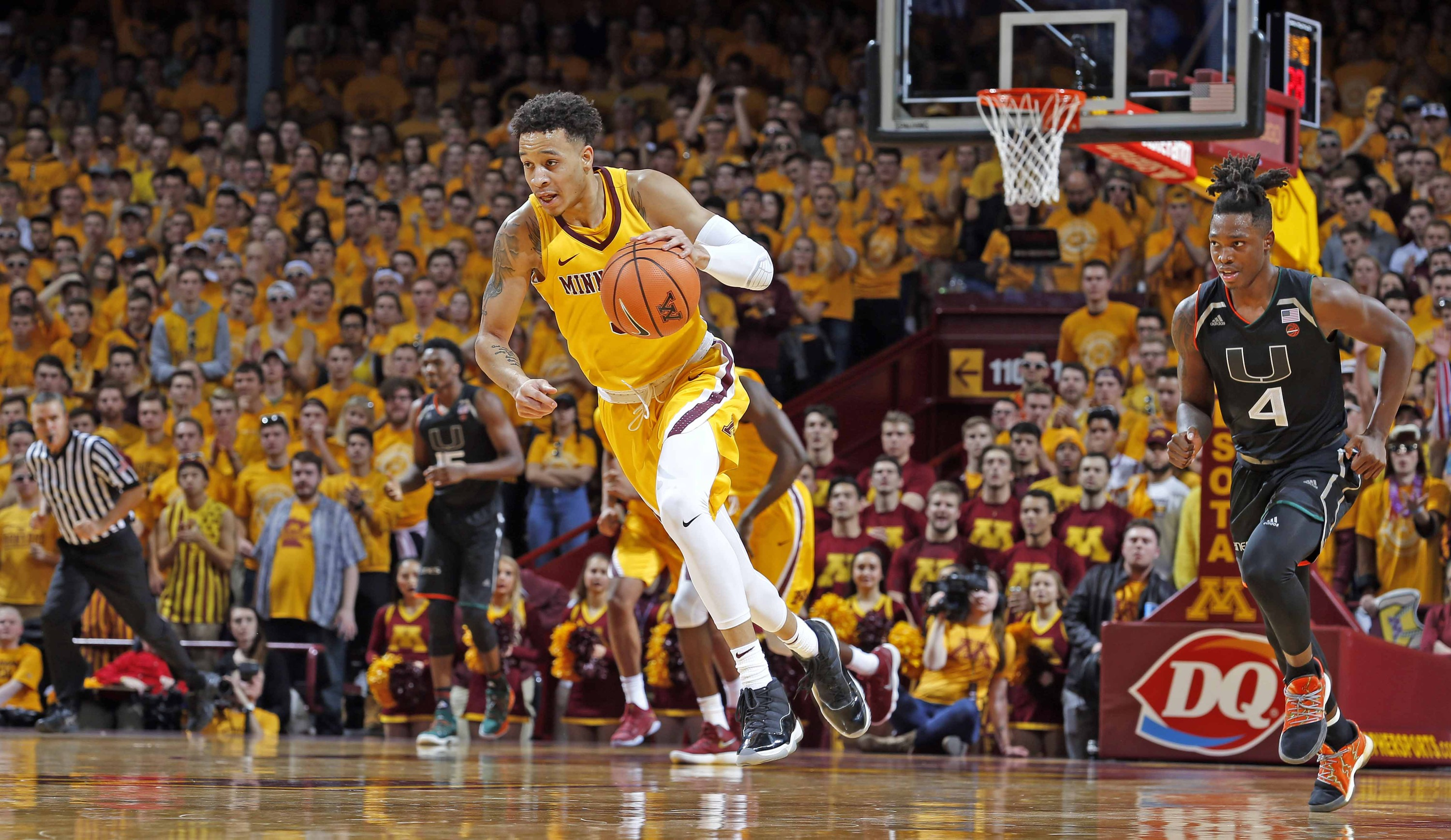 gophers to visit boston college in acc/b1g challenge - university of