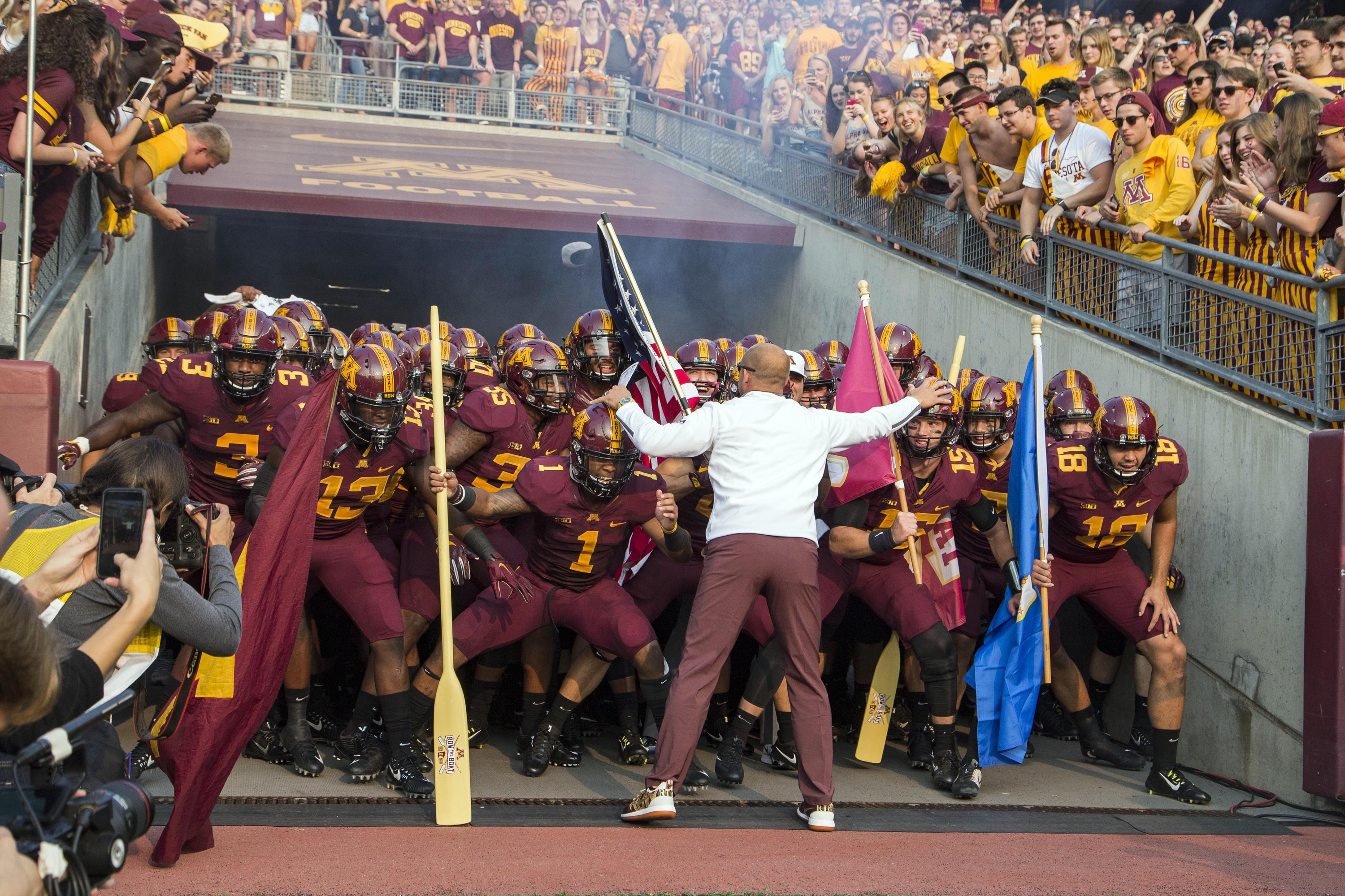 a look at the 2018 schedule - university of minnesota athletics