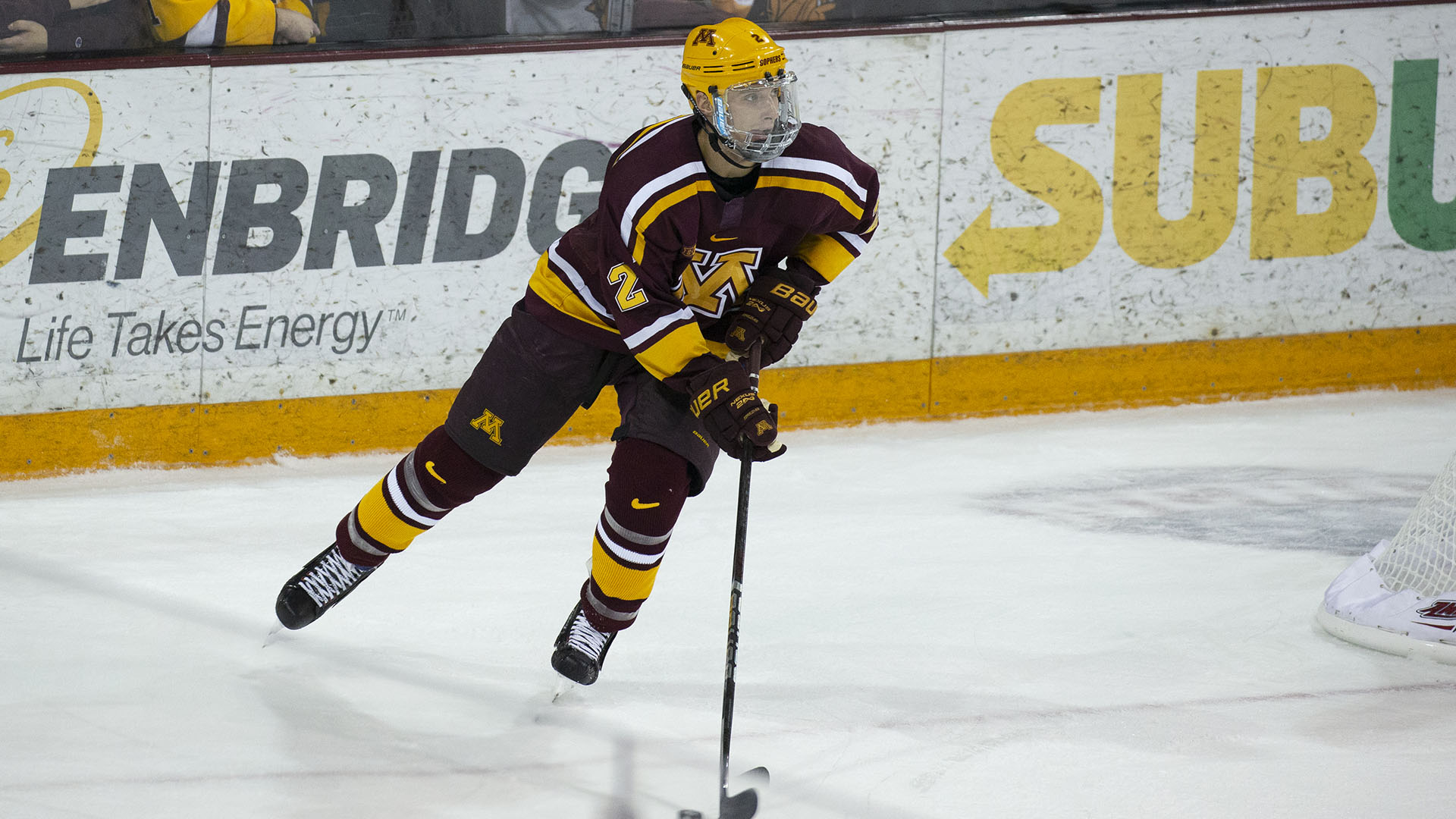 Gophers Opens Home Stand With St. Lawrence