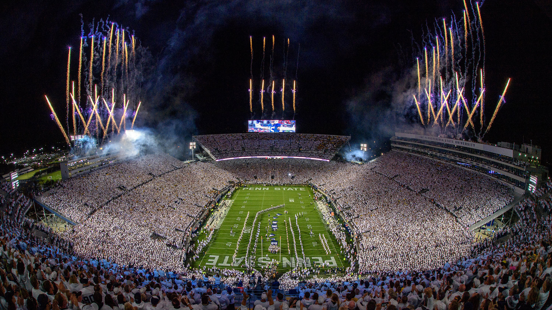 Nittany Lions Host Buckeyes for Penn State White Out ...