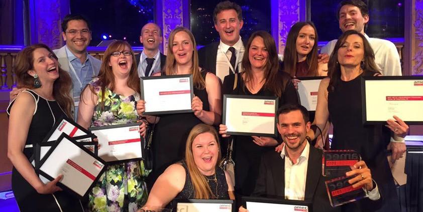 AMEC 2015 winners