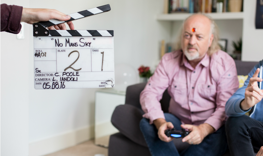 Behind the scenes with No Man's Sky and Bill Bailey (2)