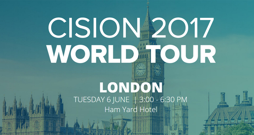 Cision World Tour London