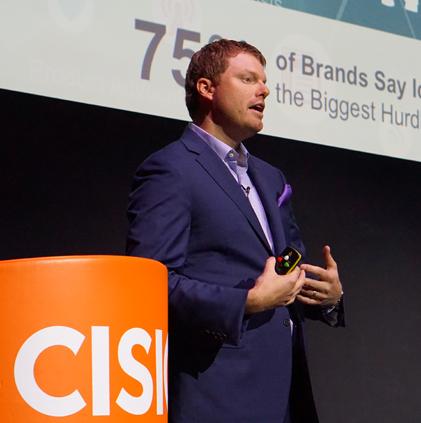 Cision CMO, Chris Lynch