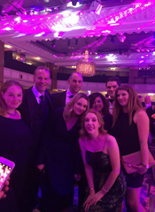 The Cision team meet Katherine Ryan at the PR Week Awards