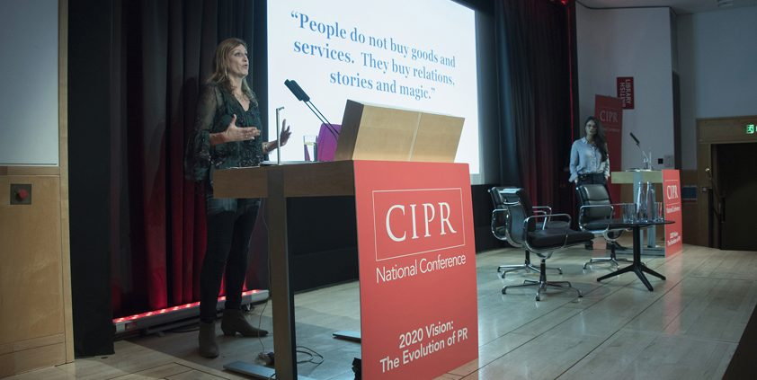 Edelman speaks at the CIPR 2017 National Conference