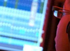 Katriona Music Producer in the Studio