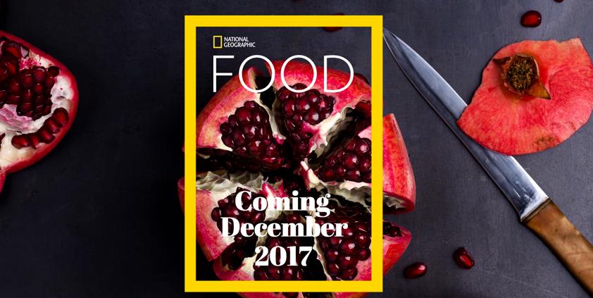National Geographic Food launch editor Maria Pieri