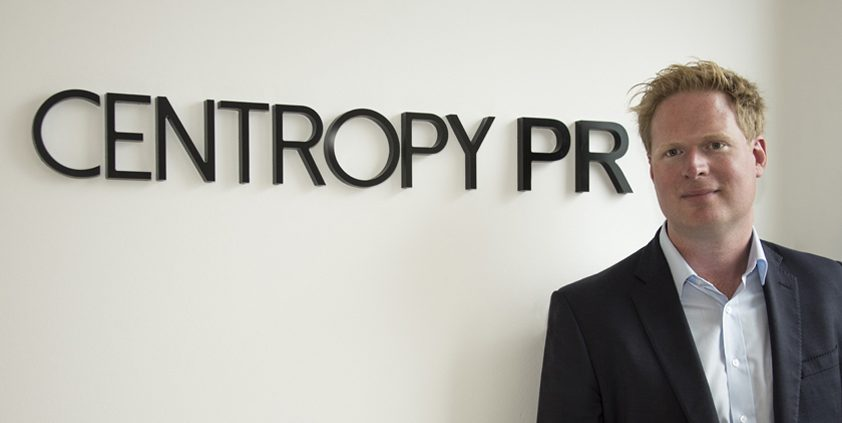 60 Seconds with Centropy PR founder Steven George-Hilley