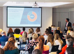 Cision's Tom Ritchie delivers workshop at PR360 conference