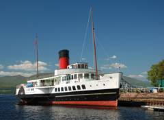 Clarion to help Maid of the Loch set sail