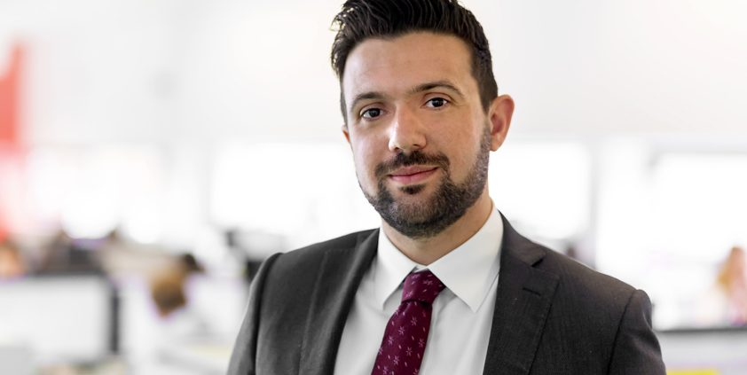 Peregrine swoops to make senior hire
