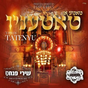 Album cover for Shlomo Simcha new album with Pinchus Wolf