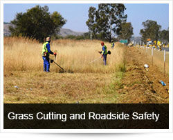 Safety with Grass Cutting, Vegetation Control and Roadside Maintenance