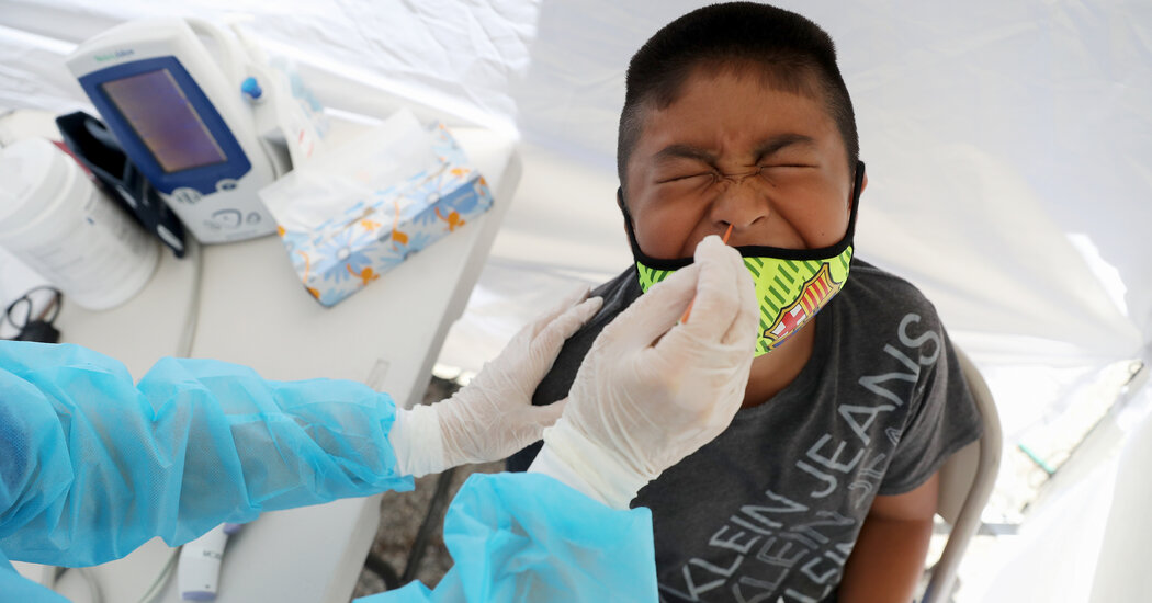 Children May Carry Coronavirus at High Levels, Study Finds