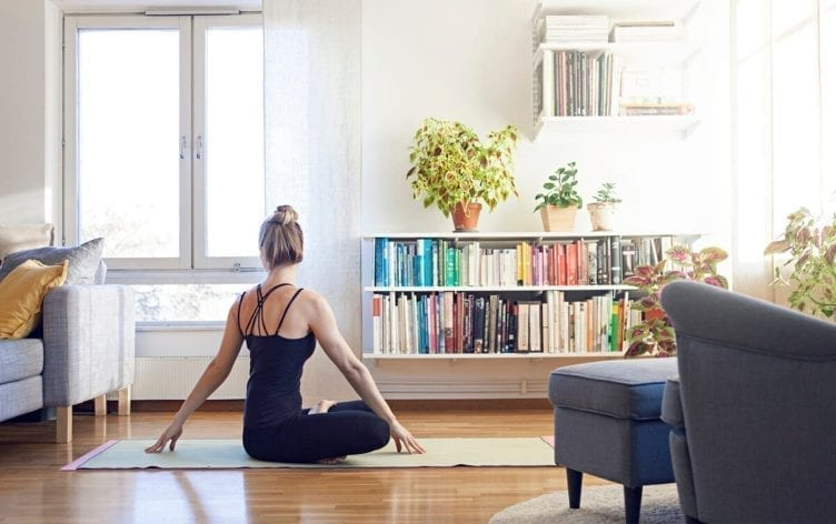 How to Set up a Home Yoga Studio | Fitness | MyFitnessPal