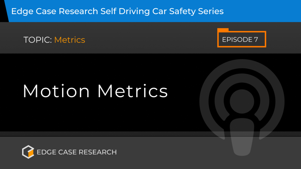 Motion Metrics - Edge Case Research - We Deliver The Promise Of Autonomy