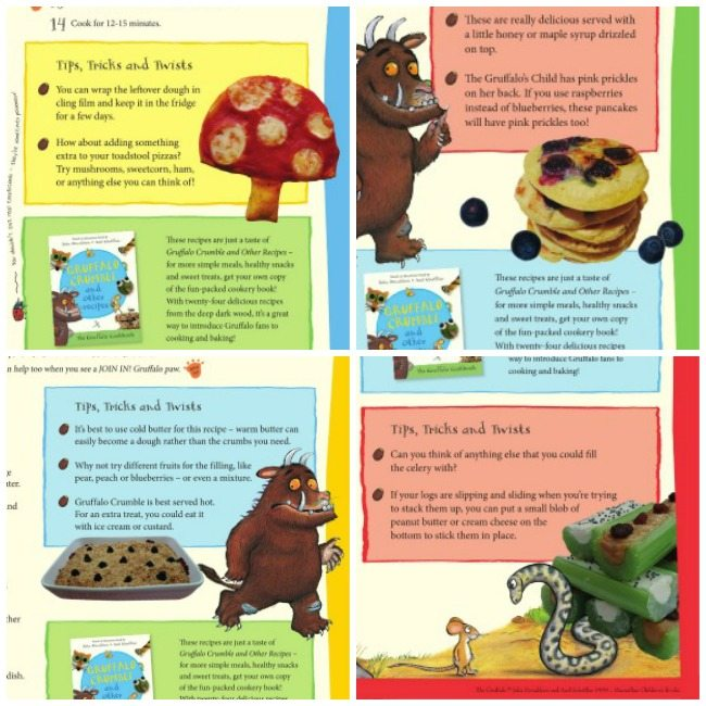 Four Gruffalo food ideas for your kids party