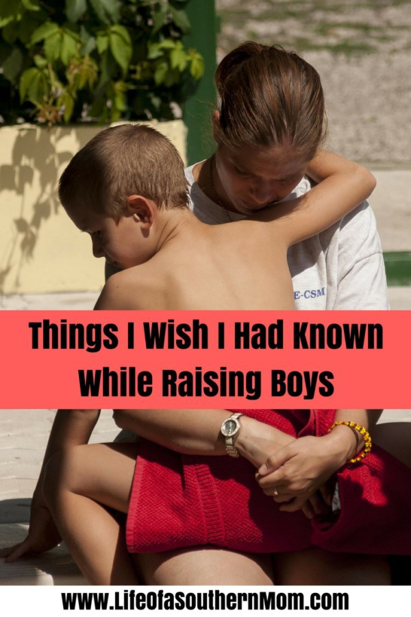 Things I Wish I Had Known While Raising Boys — Life of a Southern Mom