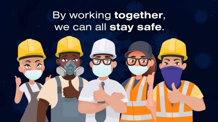 New campaign urges workers to use face masks properly   Heating & Plumbing Monthly Magazine (HPM)