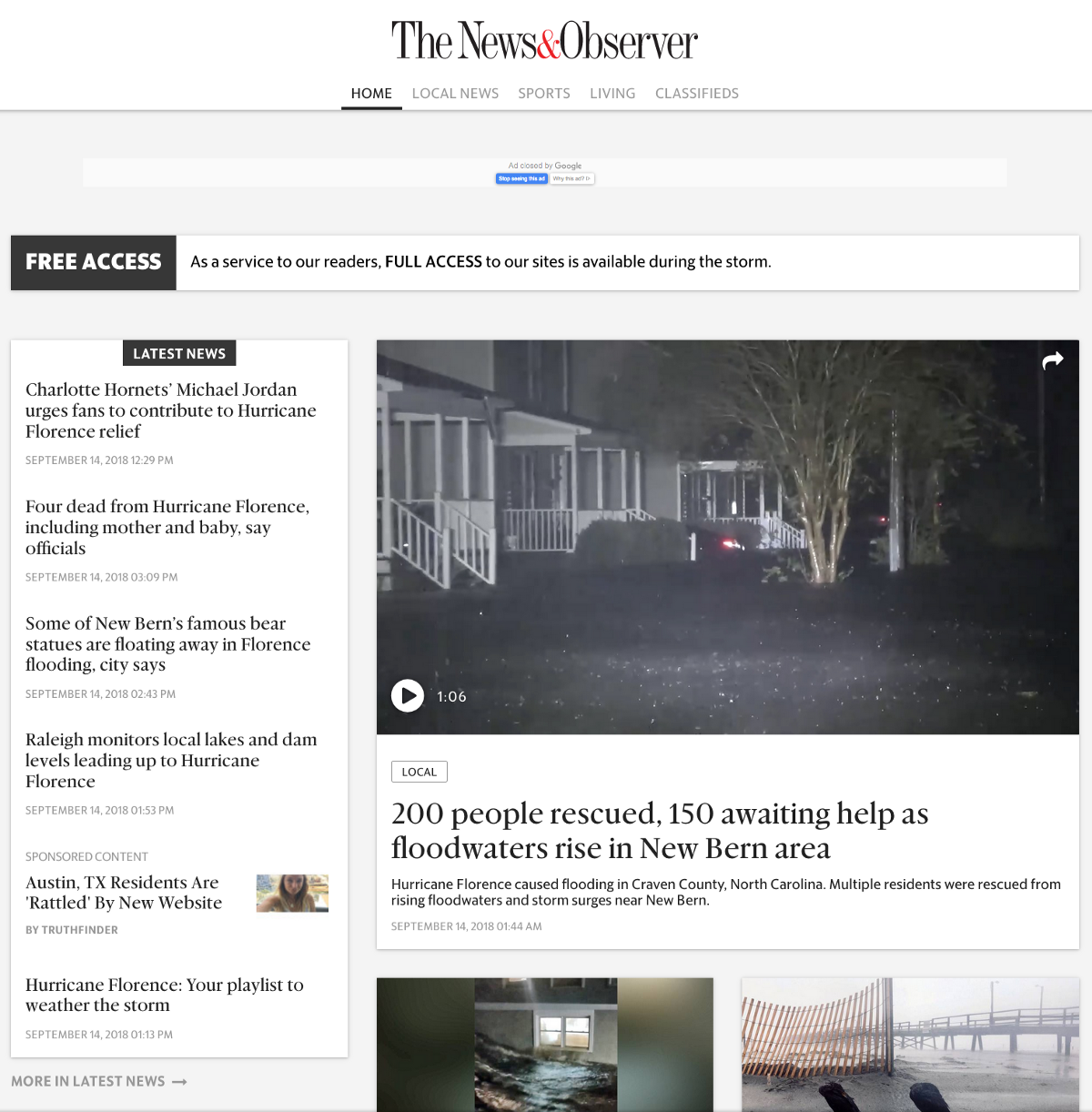 Big Tech may profess to care about local news, but they don't, and maybe they can't
