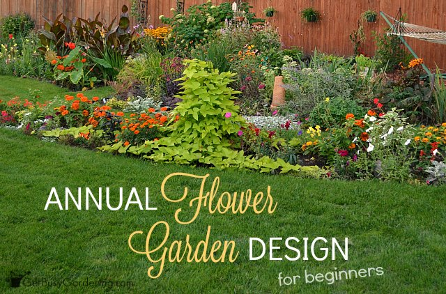 Annual Flower Garden Design For Beginners Blog Air Conditioning And