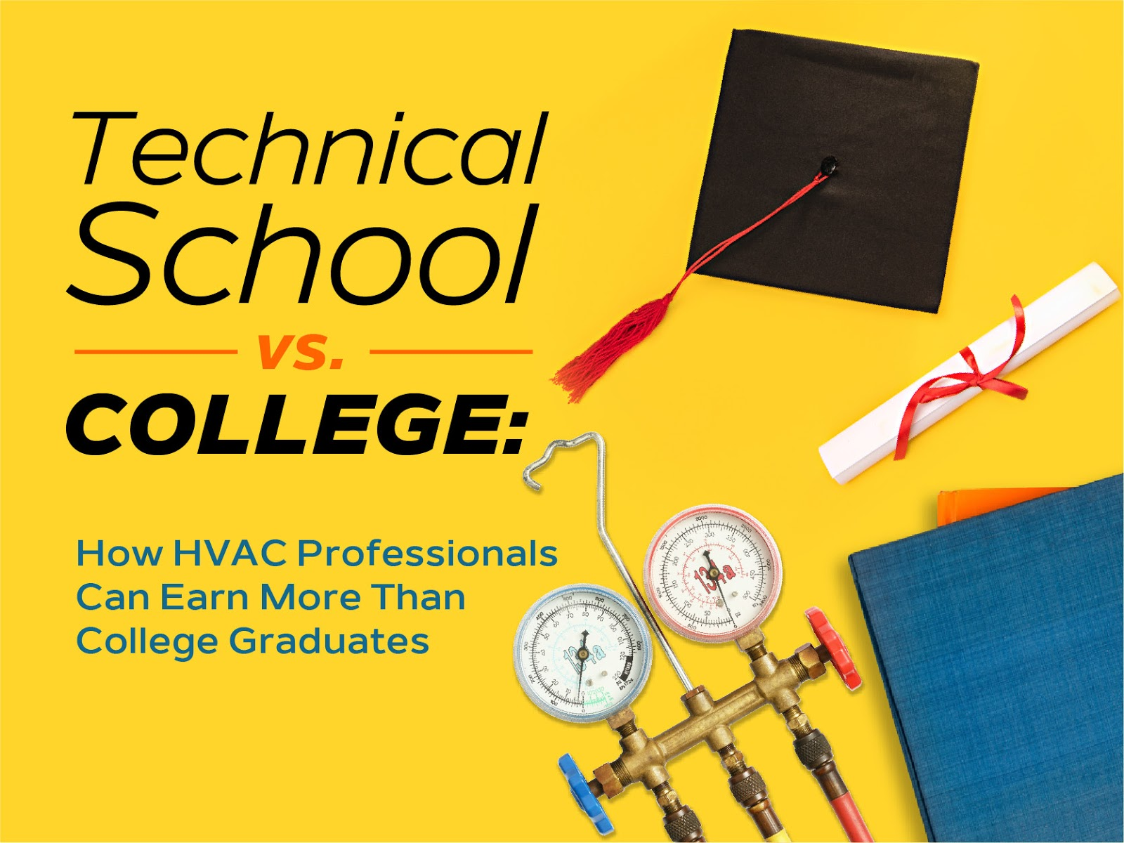 Technical School vs. College: How HVAC Professionals Can Earn More Than College Graduates - HVAC.com