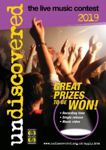 UNDISCOVERED – THE LIVE MUSIC CONTEST 2019 – Essex Music Education Hub