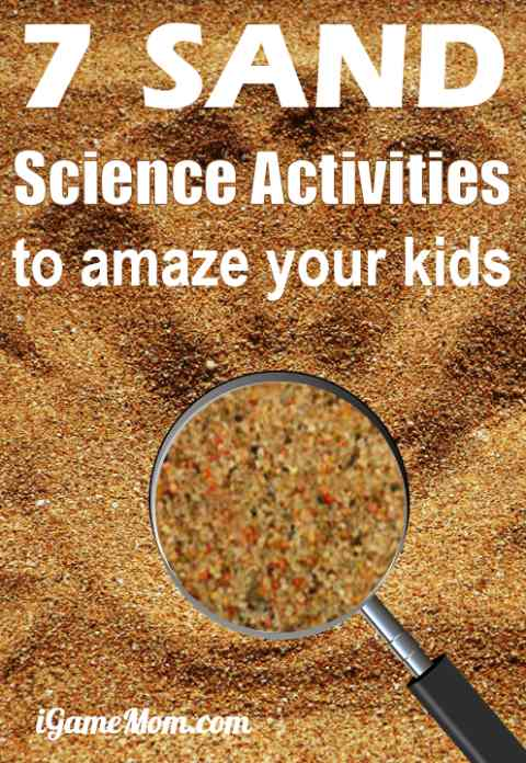 7 Sand Science Experiments for Kids