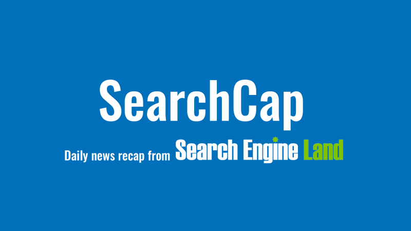 SearchCap: Bing fact checking, Google mobile tips & Bing agency awards