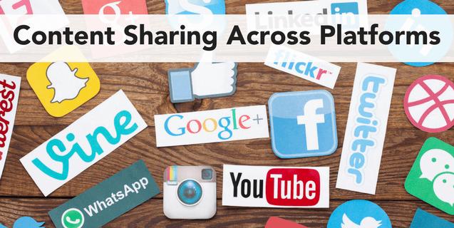 5 Tips For Content Sharing Across Social Platforms | Volume Nine