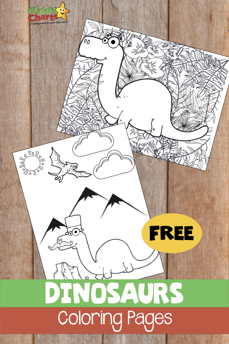 Dinosaur Coloring Pages | 1102x735