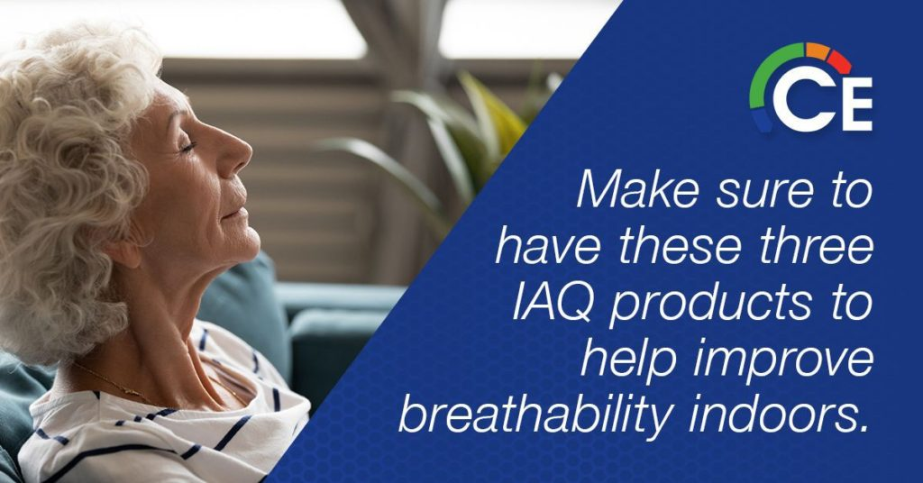 IAQ Home Solutions | Improve Breathability Indoors with IAQ