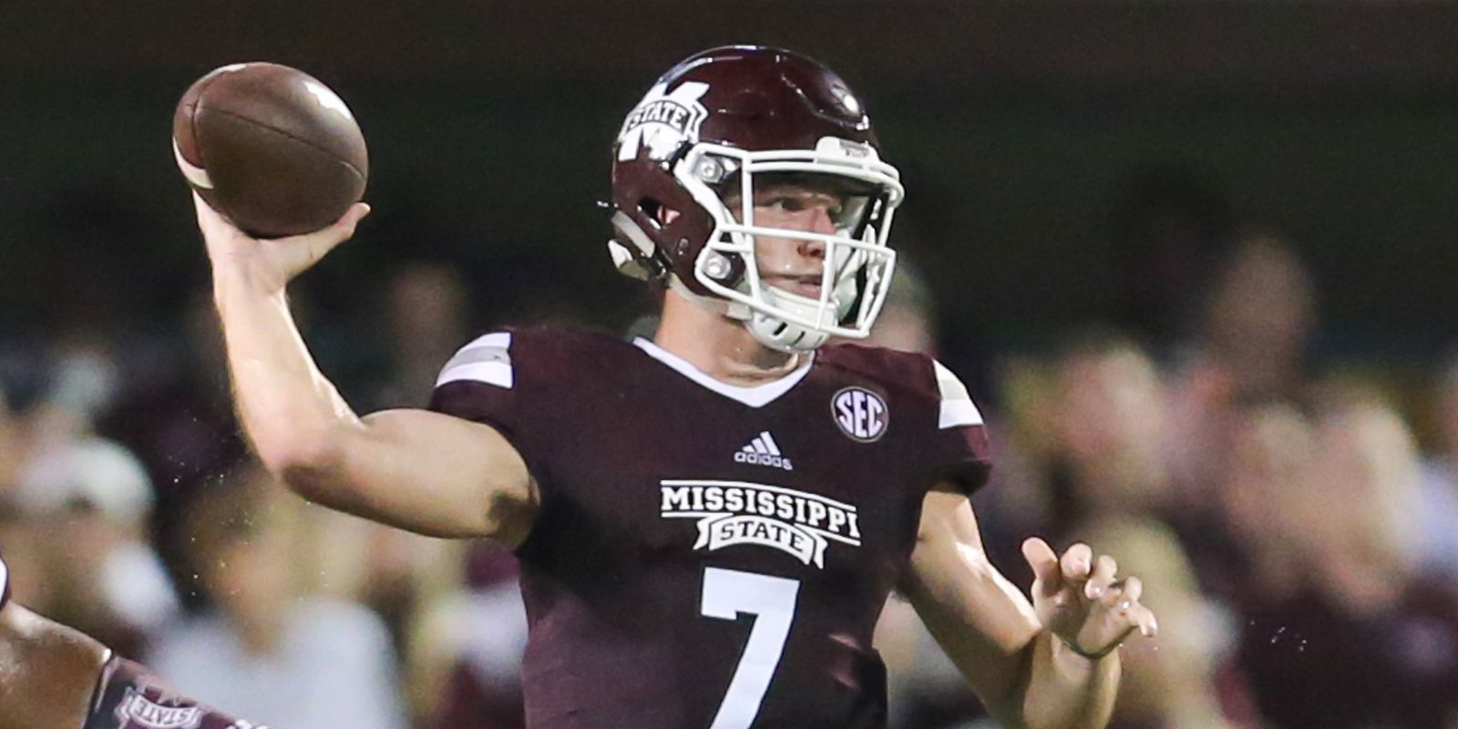 Mississippi State's Nick Fitzgerald grew up a Georgia fan but that won't matter Saturday