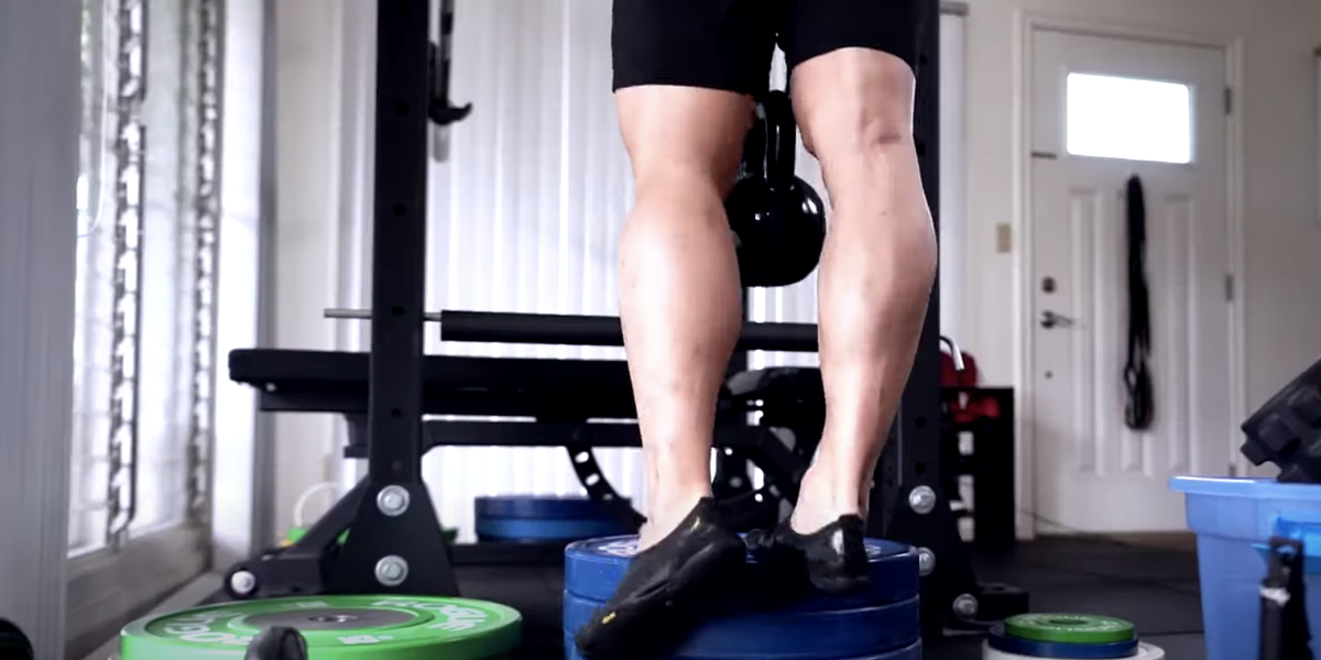 What Happened When This Guy Trained His Calves Every Day for 30 Days