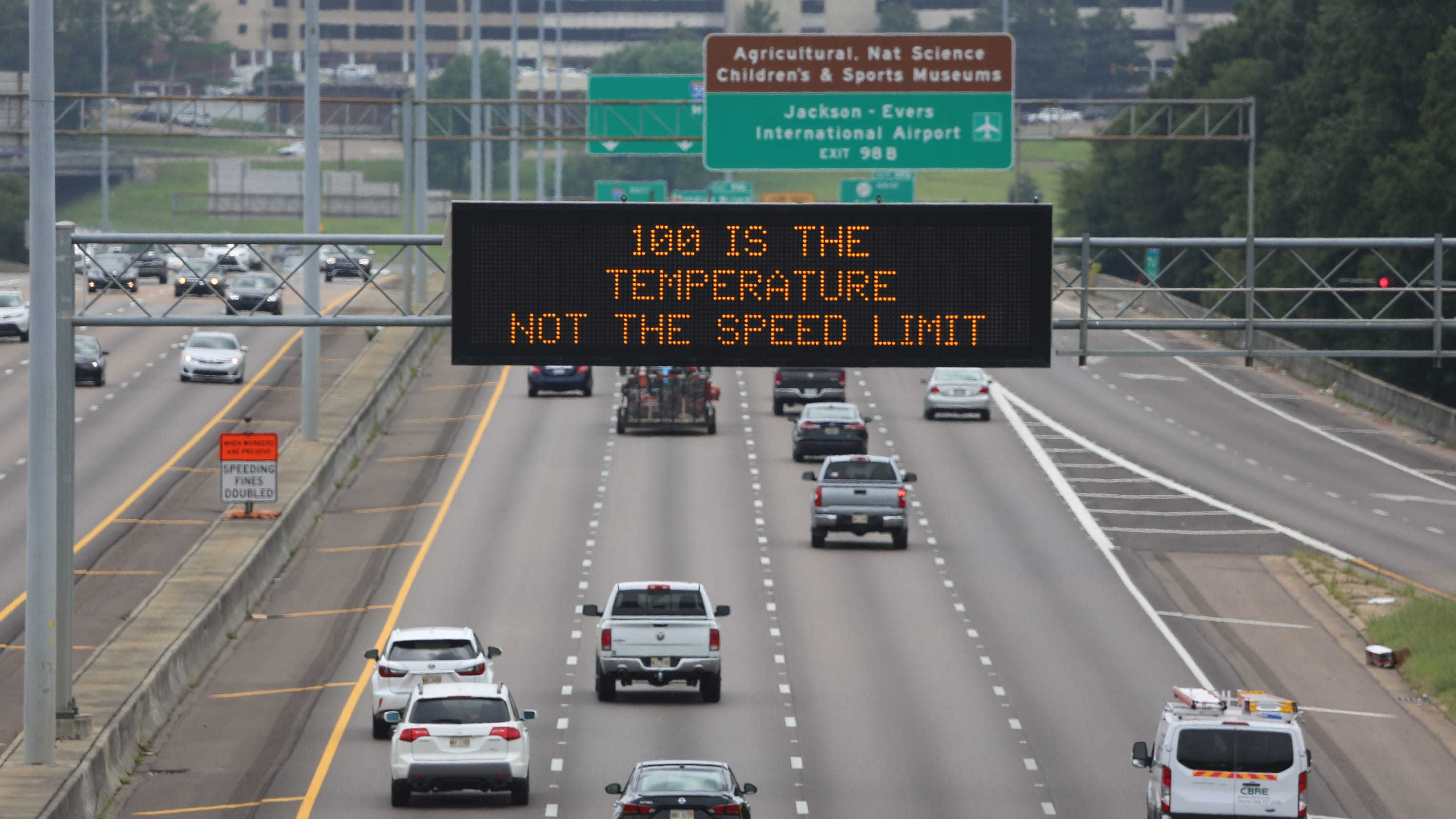 Cousin Eddie, other MDOT highway signs a hit with drivers. Here's who's behind them.