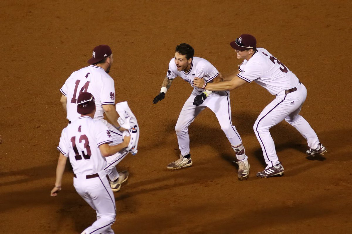Mississippi State Endures 17 Innings to Defeat LSU 6-5 in SEC Tournament