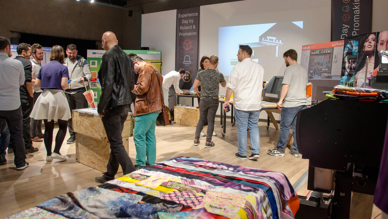 Roland DG Solutions Play Starring Role at Istanbul Creative