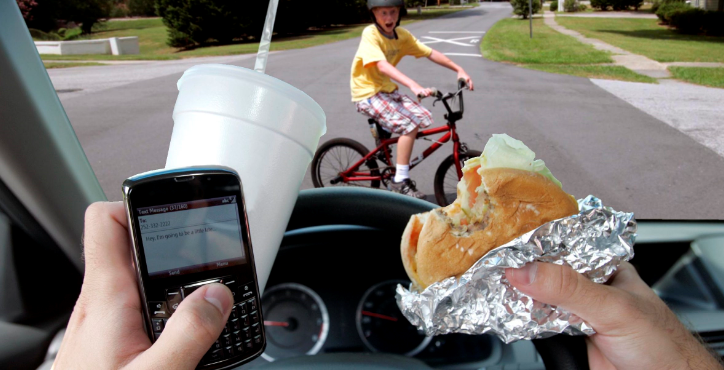 Who do rules about texting and driving really protect?
