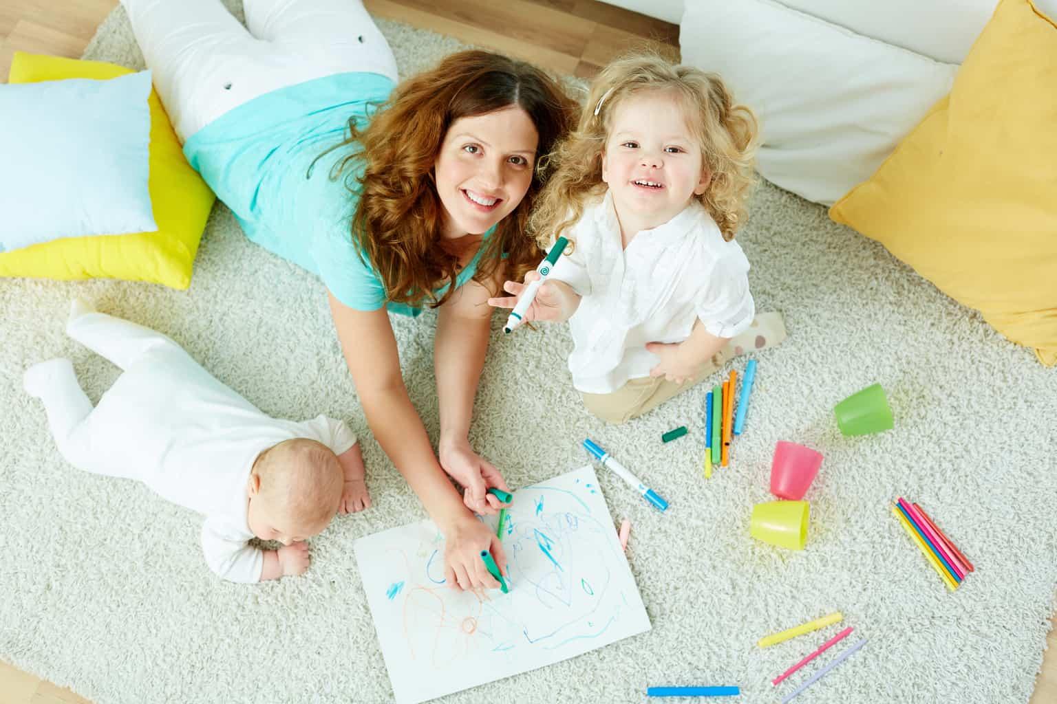 6 tips to encourage creativity in children + #win