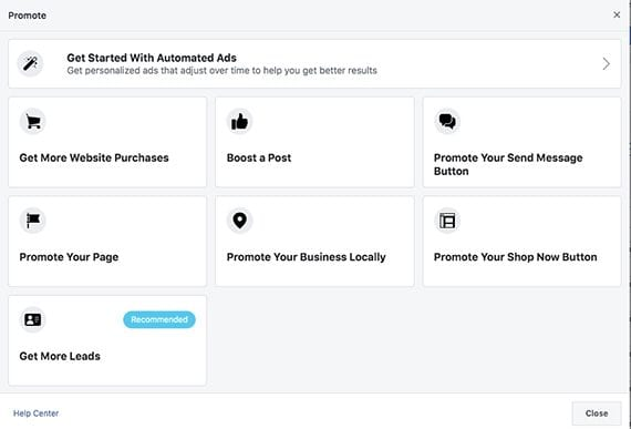 How to Launch Facebook Ads from Your Business Page | Practical Ecommerce