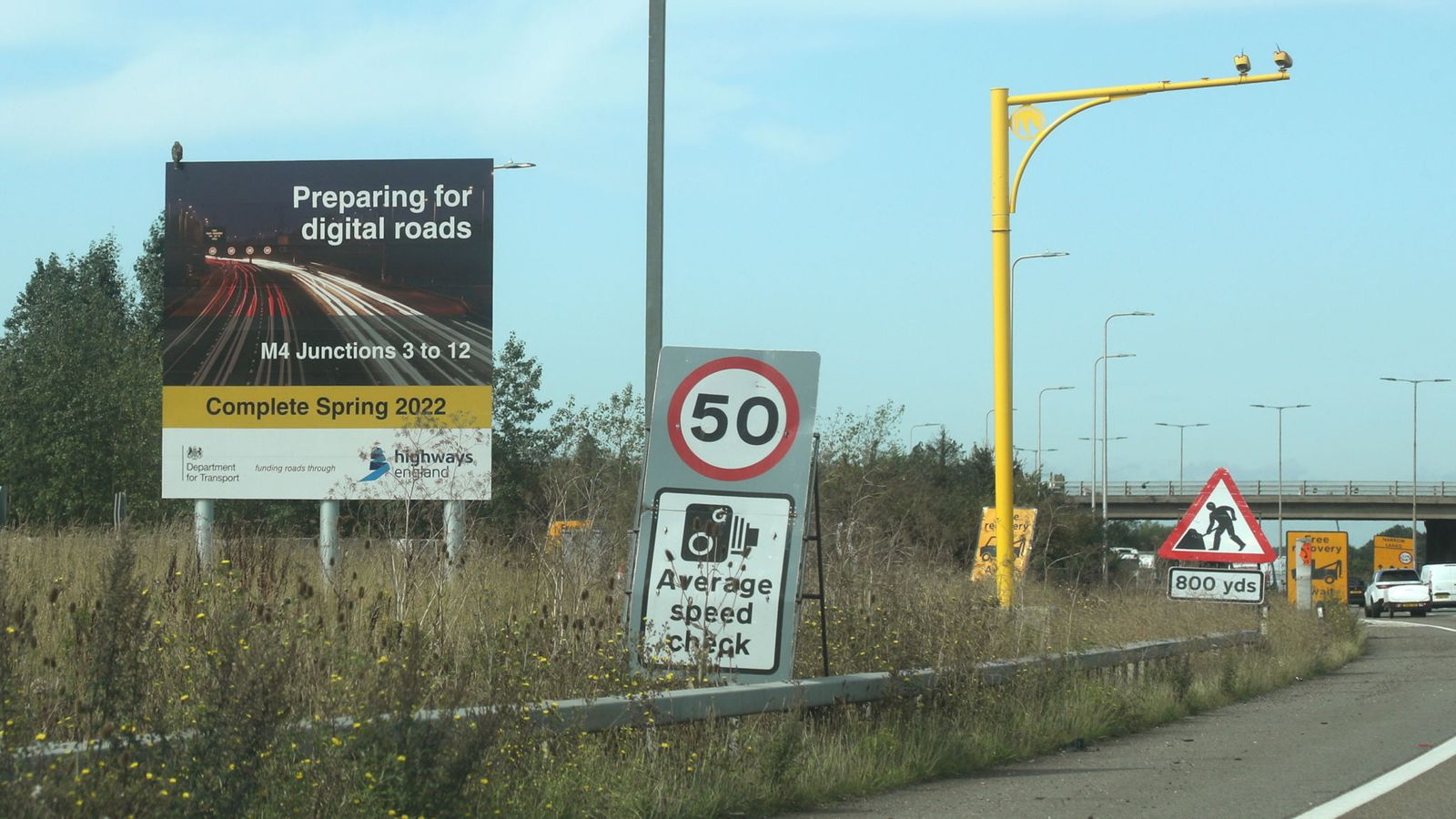 Government to abolish 'dynamic hard shoulder' smart motorways as part of 18-point action plan