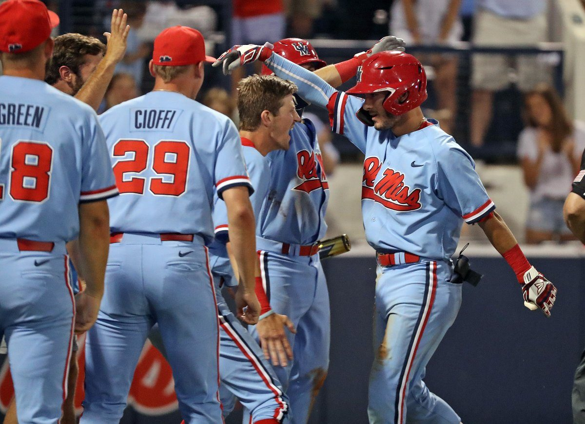 Ole Miss offense plates 16 runs, routs Jacksonville State in NCAA Tournament opener