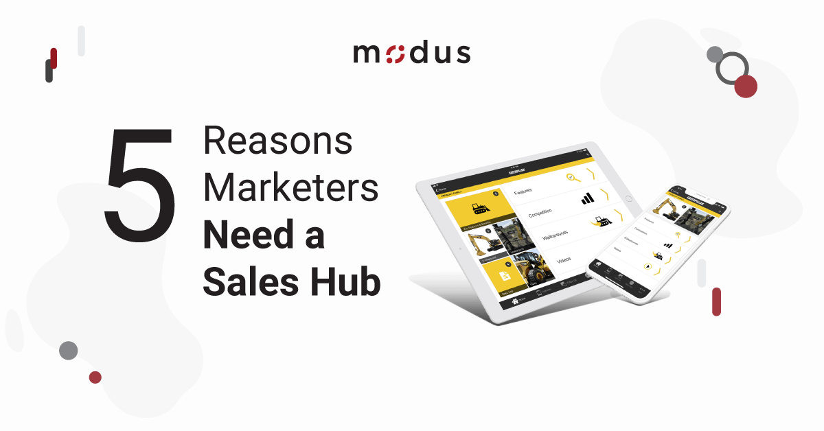5 Reasons Marketers Need a Sales Hub