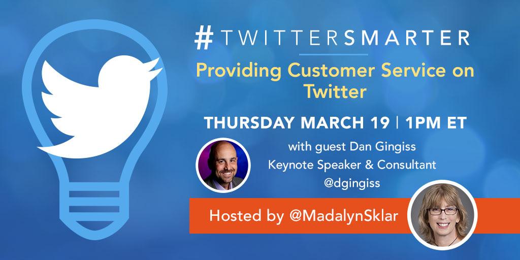 Providing Customer Service on Twitter