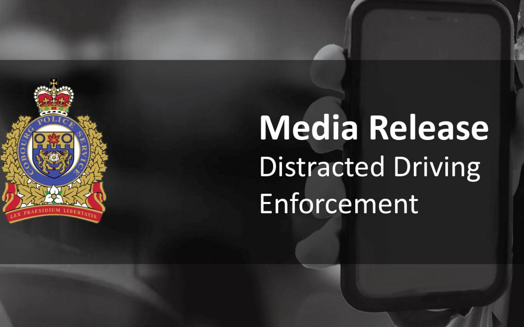 Distracted Driving Enforcement – November S.T.E.P.