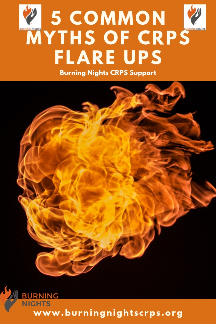 5 Common Myths of CRPS Flare Ups