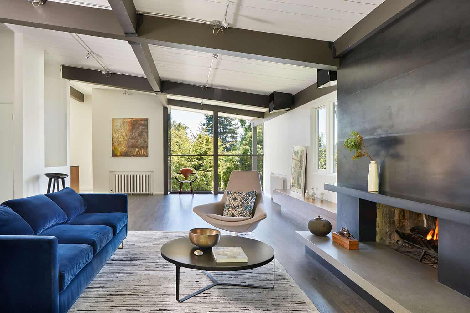 Mid-century home renovation in Seattle embraces indoor-outdoor living