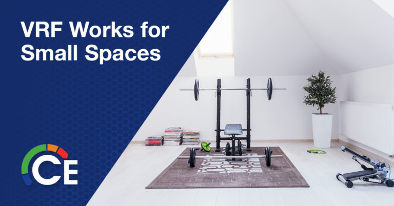 VRF Systems Are the Solution for Small Spaces