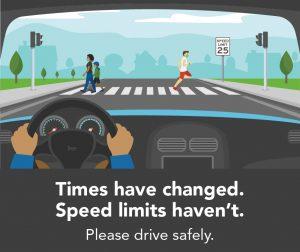 National Pedestrian Safety Month: Decrease Vehicle Speed